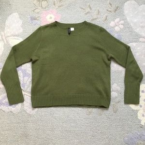 H&M Forest Green Sweater